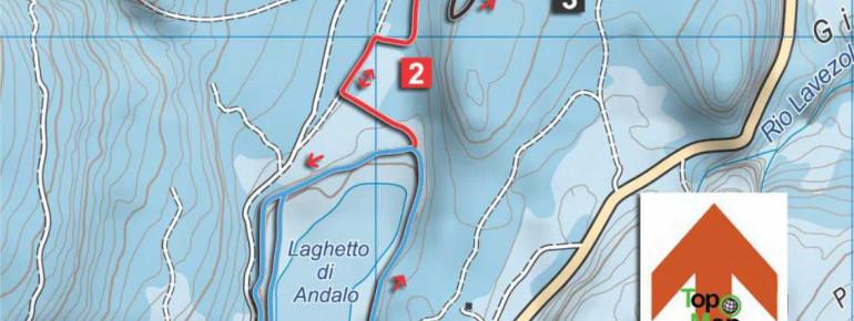 Loipenplan Andalo - Paganella