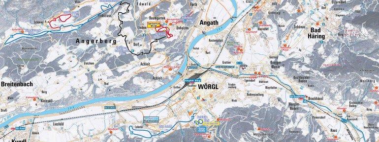 Trail Map Angerberg