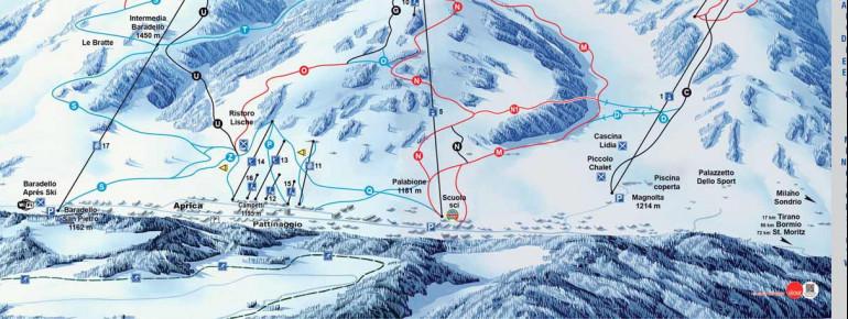 Trail Map Aprica