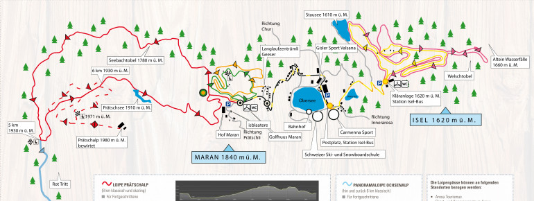 Trail Map Arosa