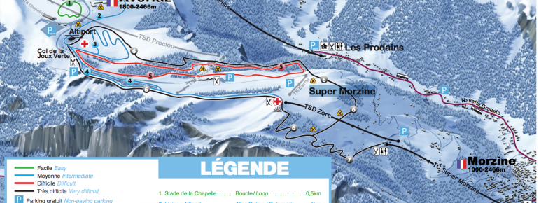Trail Map Avoriaz