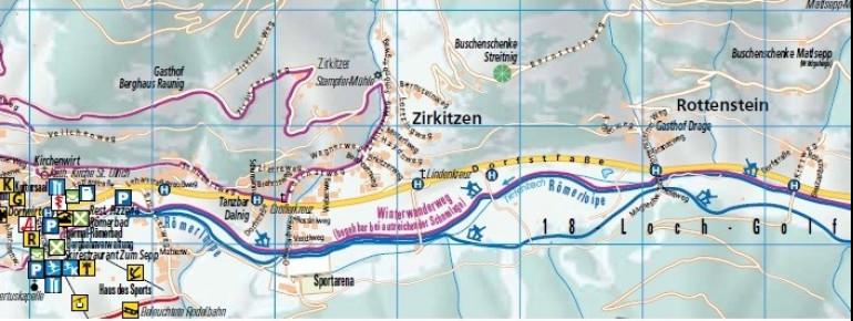 Loipenplan Bad Kleinkirchheim