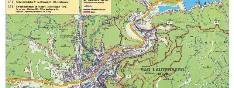 Loipenplan Bad Lauterberg