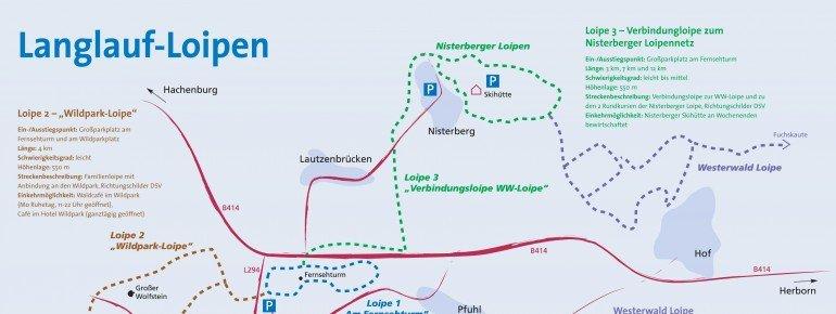 Loipenplan Bad Marienberg