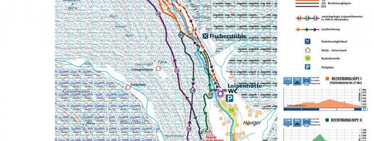 Loipenplan Baiersbronn