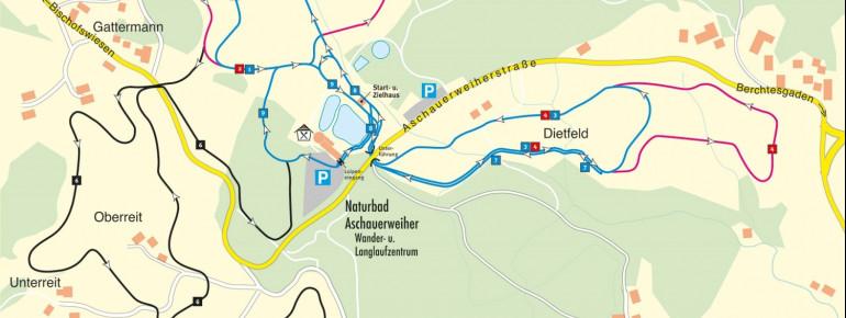 Trail Map Berchtesgaden