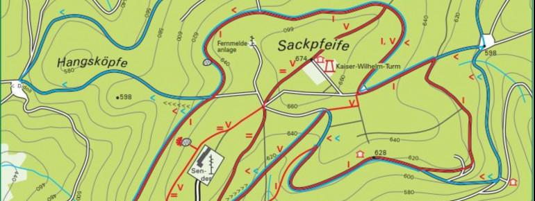 Trail Map Biedenkopf