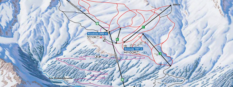 Trail Map Bosco Gurin
