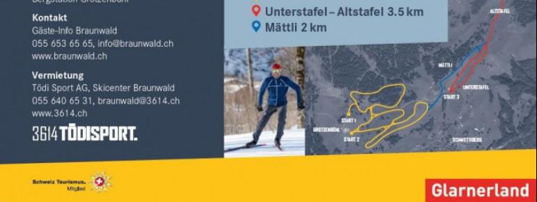 Trail Map Braunwald