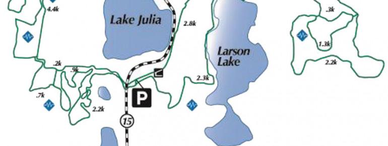 Loipenplan Buena Vista Ski Area