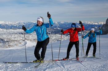 Perfektes Höhentraining für Langläufer auf 2700 Metern Höhe.