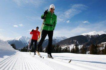 Über 100 Loipenkilometer können Langläufer in der Graubündner Region erkunden.