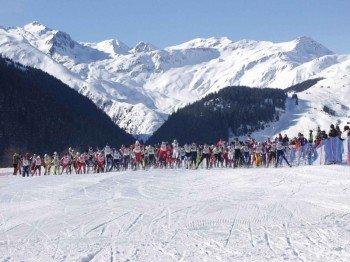 Events, wie der Surselva Marathon, runden das Loipenangebot ab.