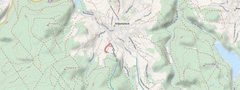 Trail Map Eibenstock