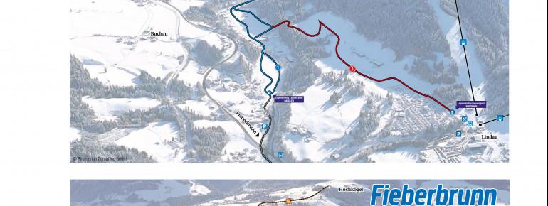 Trail Map Fieberbrunn