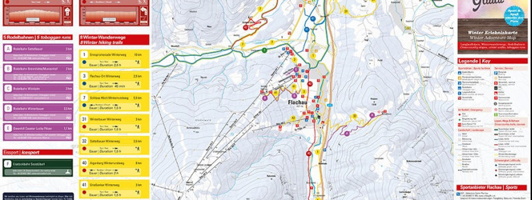 Loipenplan Region Flachau