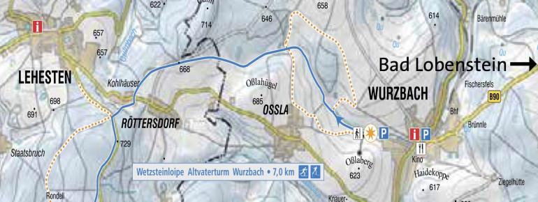 Loipenplan Wurzbach