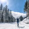 Auf der mittelschweren Angertalloipe fühlen sich besonders etwas fortgeschrittenere Skilangläufer wohl.
