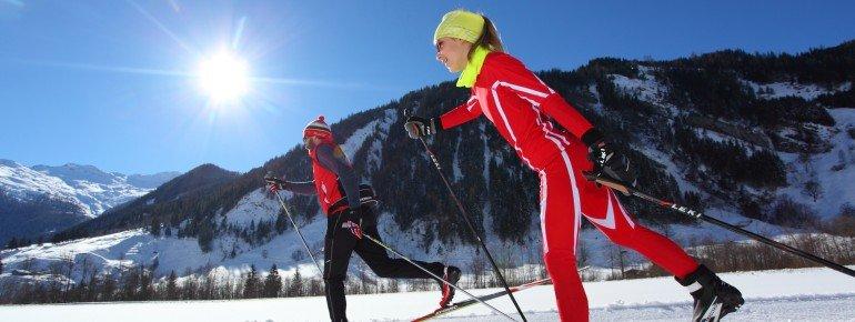 Im Großarltal können Langläufer auf rund 25 Kilometern durch die winterliche Landschaft gleiten.