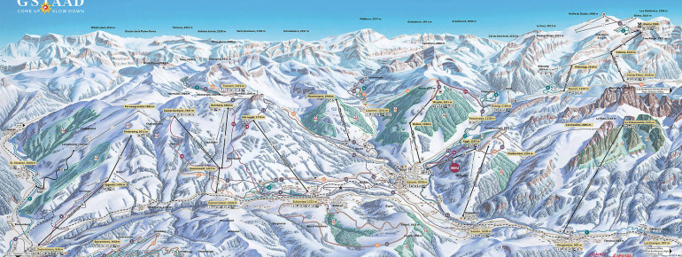 Loipenplan Gstaad