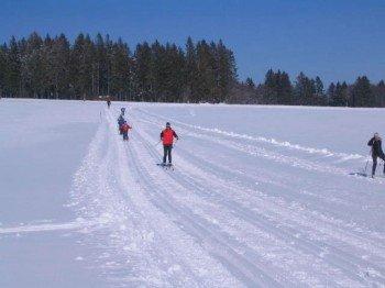 Langlaufen im Langlaufzentrum Hotzenwald