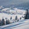 Idyllisch liegt Hochfilzen auf einem schneesicheren Hochplateau.