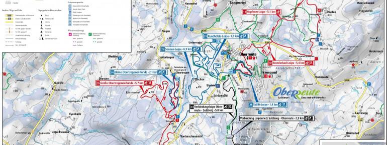 Loipenplan Oberreute