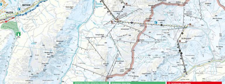 Trail Map Ischgl