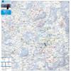 Langlaufen, Winternwandern. Isny, Argenbühl, Maierhöfen. Topographische Karte