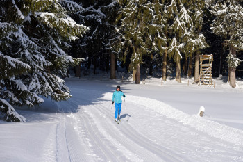 Klassischer Langlauf im DSV Nordic Aktiv Zentrum Isny im Allgäu