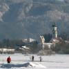 Langlauf im Naturschutzgebiet Bodenmöser vor den Toren von Isny im Allgäu