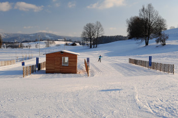Langlauf im Volksbank Allgäu-Oberschwaben eG Langlaufstadion Isny im Allgäu