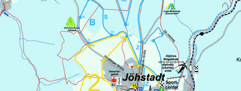 Loipenplan Jöhstadt