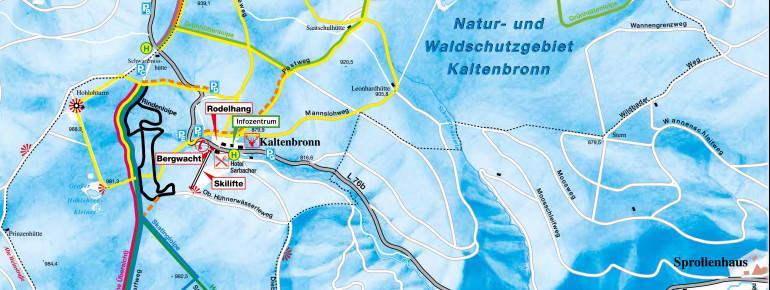 Loipenplan Kaltenbronn