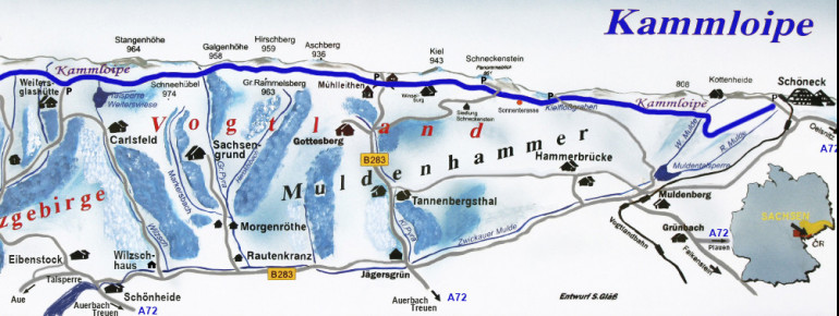 Trail Map Kammloipe