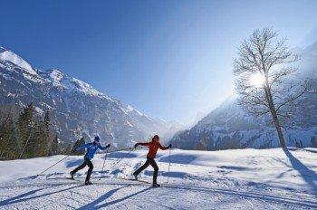 Ob für den klassischen Langlauf oder zum Skating - in Kandersteg findet jeder die richtige Loipe für sich.