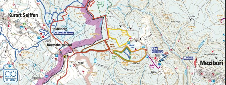 Trail Map Kliny
