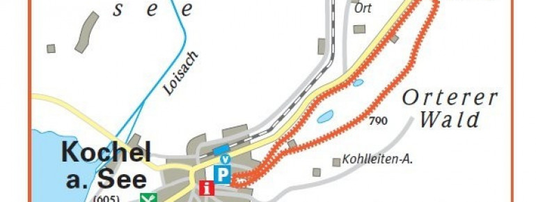 Trail Map Kochel Rabenkopf