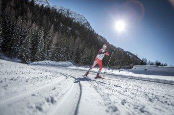 Mit rund 300 Kilometer herrlicher Loipen zählt die Ferienregion Kronplatz zu den Langlaufhotspots der Alpen.