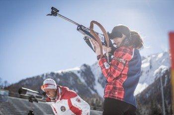 Vor allem Antholz ist als Eldorado für Biatlethen bekannt.