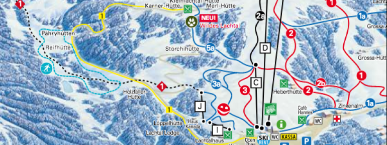 Trail Map Lachtal