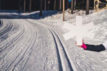 Gespurte Loipen in Lahti