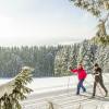 Rund 20 Loipenkilometer führen durch die verschneite Landschaft auf der Pastorenwiese.