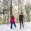 Startpunkt der Loipen ist die Skihütte des SK Wunderhausen.