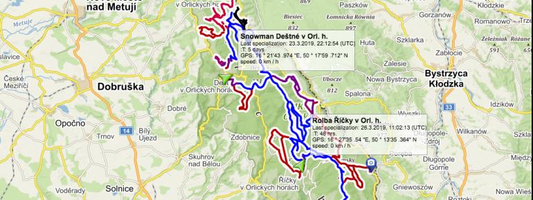 Trail Map Lasowka Zieleniec