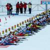 Mitte Dezember wird im Sylvie Becaert Stadion der Biathlon Weltcup ausgetragen.