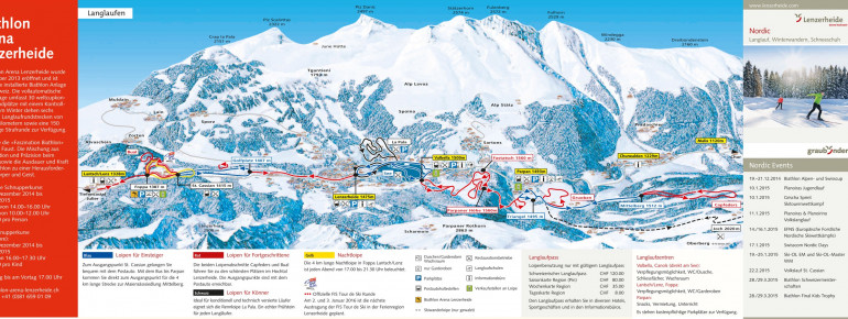 Trail Map Lenzerheide