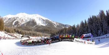 In Lenzerheide finden regelmäßig Langlaufevents, wie z.B. die Tour de Ski, statt.