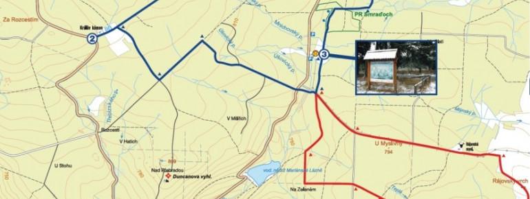 Trail Map Marianske Lazne