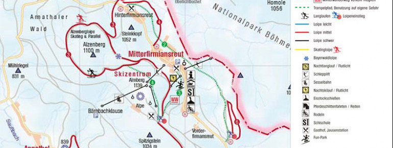 Trail Map Mitterdorf